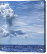 This Is The Philippines No.11 - Towering Clouds Acrylic Print