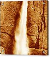 This Is Upper Yosemite Falls Acrylic Print