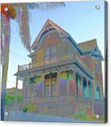 This Old House Fantasy Acrylic Print