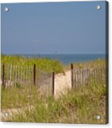This Way To The Beach Acrylic Print