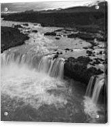 Thofafoss Waterfall Iceland 1538 Acrylic Print