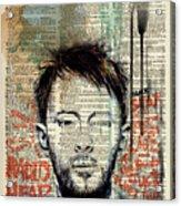 Thom Yorke Acrylic Print