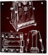 Thomas A. Edison Jr. Toaster Patent 1933 2 Acrylic Print