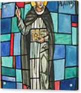 Thomas Aquinas Italian Philosopher Acrylic Print by Photo Researchers