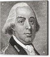 Thomas Gage, 1719 To1787. British Acrylic Print