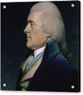Thomas Jefferson Acrylic Print by James Sharples