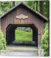 Thomas Malon Covered Bridge Acrylic Print