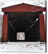 Thomas Mill Road Covered Bridge Acrylic Print