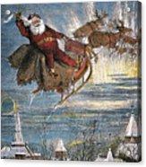 Thomas Nast: Santa Claus Acrylic Print