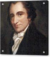 Thomas Paine, American Founding Father Acrylic Print