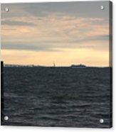 Thomas Point  - View Of The Bay Bridge Acrylic Print