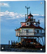 Thomas Point Lighthouse Acrylic Print