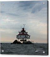 Thomas Point Shoal Lighthouse - Icon Of The Chesapeake Bay Acrylic Print