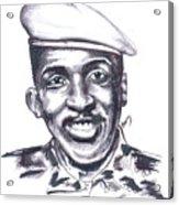 Thomas Sankara 02 Acrylic Print