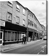 thomas street in the Northern quarter Manchester uk Acrylic Print