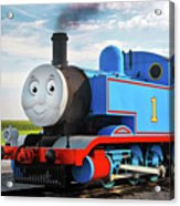 Thomas The Train Acrylic Print