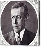 Thomas Woodrow Wilson, 1856 To 1924 Acrylic Print