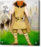 Thor Odinsson Acrylic Print by Ilias Patrinos