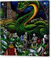Thor Ragnarok Acrylic Print