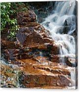 Thoreau Falls - White Mountains New Hampshire  Acrylic Print by Erin Paul Donovan