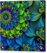 Thorn Flower Acrylic Print