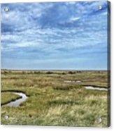 Thornham Marshes, Norfolk Acrylic Print