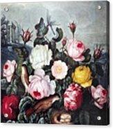 Thornton: Roses Acrylic Print