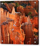 Thor's Hammer At Sunrise In Bryce Canyon Acrylic Print