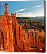Thor's Hammer Bryce Canyon National Park Acrylic Print