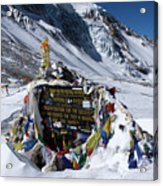 Thorong La Pass, Annapurna Circuit, Nepal Acrylic Print
