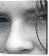 Those Blue Eyes Acrylic Print