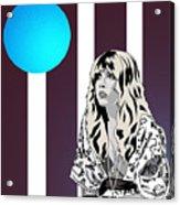 Thoughtful Stevie Acrylic Print