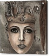 Thoughts Fantasy Acrylic Print