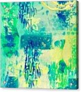 Thoughts Acrylic Print