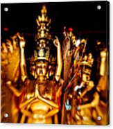 Thousand Hands Buddha Acrylic Print