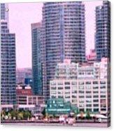 Thousands Of Windows On The Harbor Acrylic Print