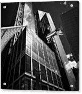 three and four world trade center New York City USA Acrylic Print