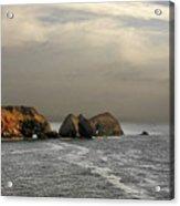 Three Arch Rocks - Oceanside Near Cape Meares - Oregon Acrylic Print