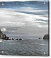 Three Arch Rocks National Wildlife Refuge Near Cape Meares Oregon Acrylic Print by Christine Till