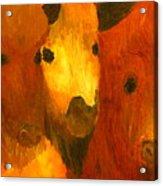 Three Bison Acrylic Print