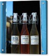 Three Bottles Of Liqueur Acrylic Print