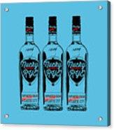Three Bottles Of Nucky Rye Tee Acrylic Print