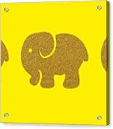 Three Elephants Acrylic Print