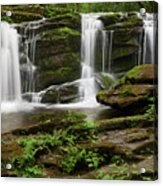 Three Falls Of Tremont Acrylic Print