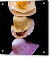 Three Hats Acrylic Print