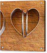 Three Heart Cutters Acrylic Print