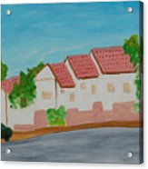 Three Houses Acrylic Print