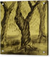 Three Is As Tree Gets Acrylic Print