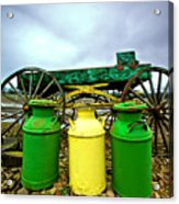 Three Jugs Acrylic Print by Dale Stillman
