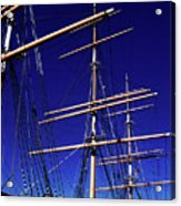 Three Mast Sailing Rig Acrylic Print